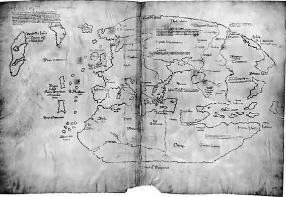 Самая загадочная карта в мире
