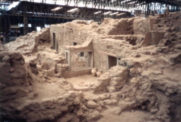 Стихия, уничтожившая минойскую культуру