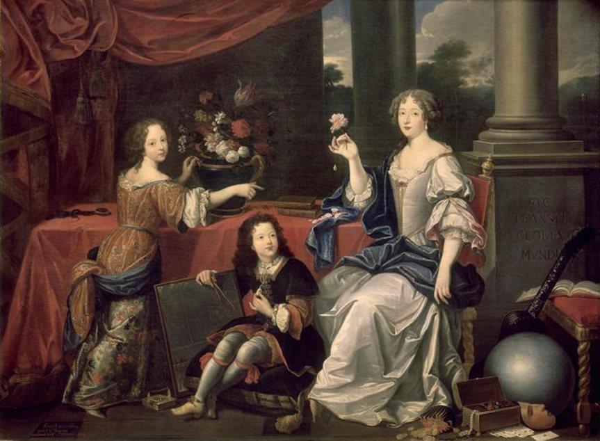 Луиза де Лавальер — Людовик XIV Французский