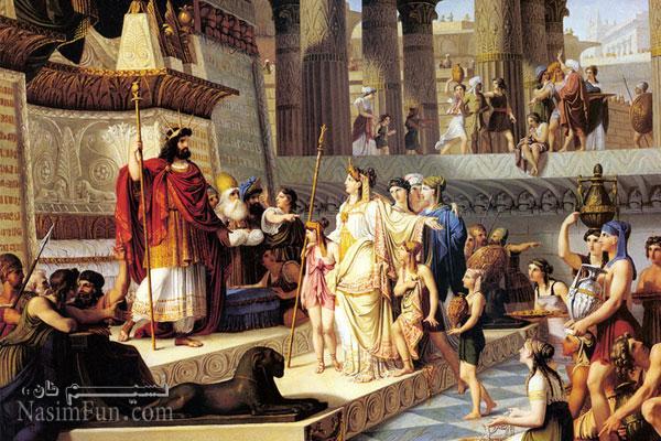 Царица Савская — Царь Соломон