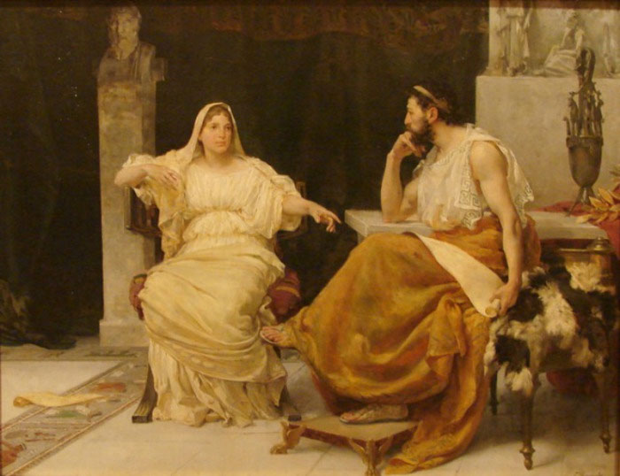 Аспазия — Перикл