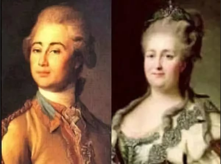 Екатерина II — Александр Ланской