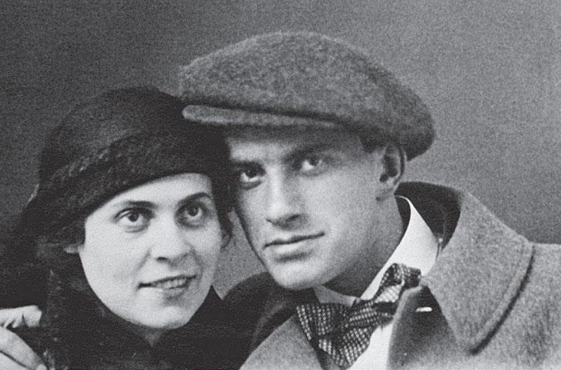 Лиля Брик — Владимир Маяковский