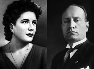 Клара Петаччи — Бенито Муссолини