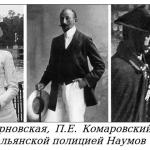 Запутанная история графа Комаровского