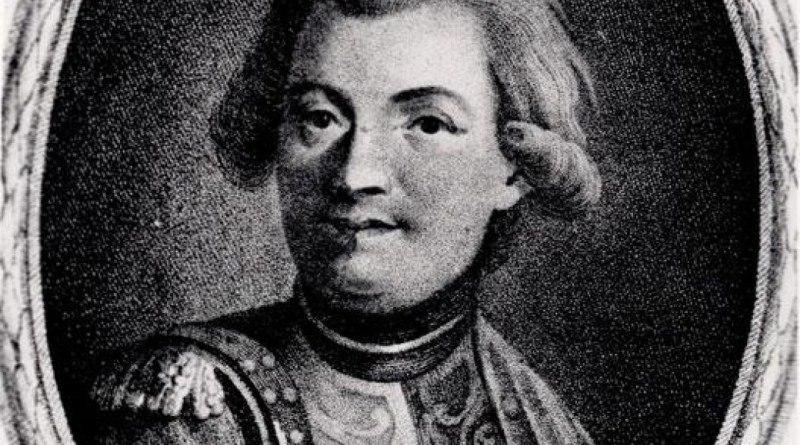Мориц Август Беньовский (ок. 1746–1786)