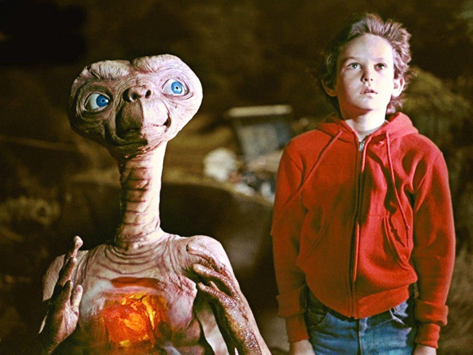 Кинофильм «Иноплянетянин» (E.T.: The Extra-Terrestrial)