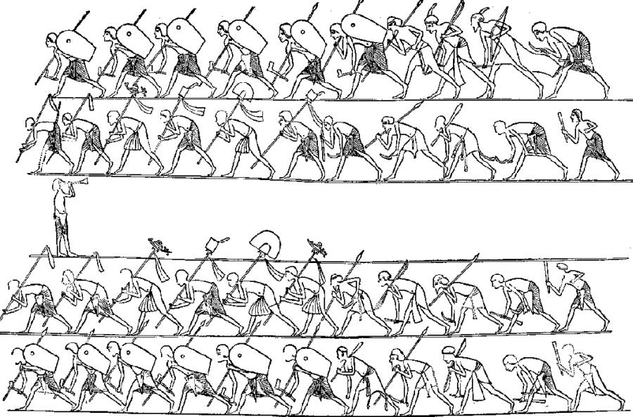 Война Египта с племенами Палестины (1472–1460 гг. до н. э.)