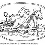 Похищение Европы (мореходы Крита)