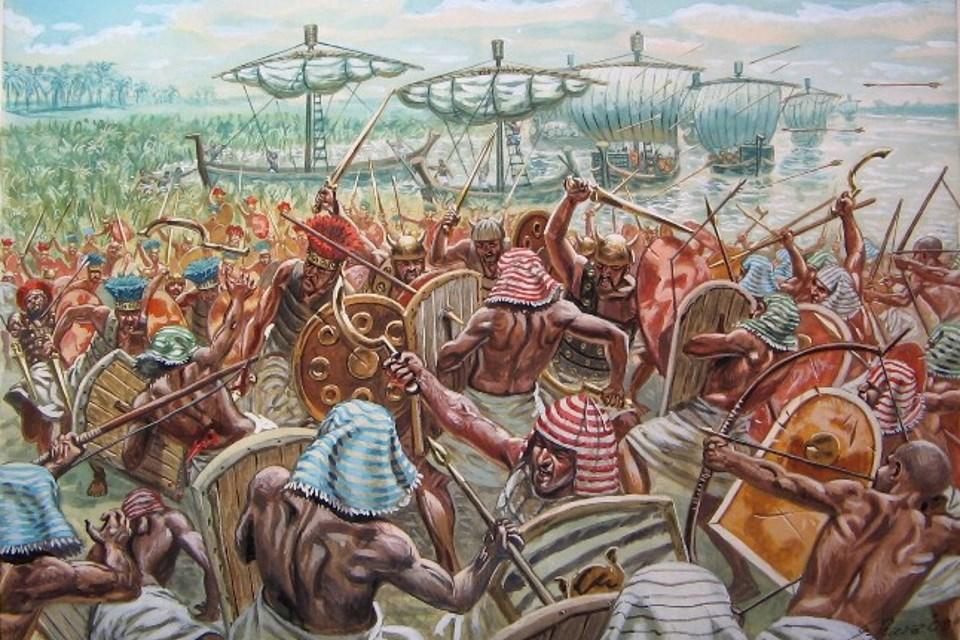 Война Египта с «Народами моря» (конец XIII–XII век до н. э.)