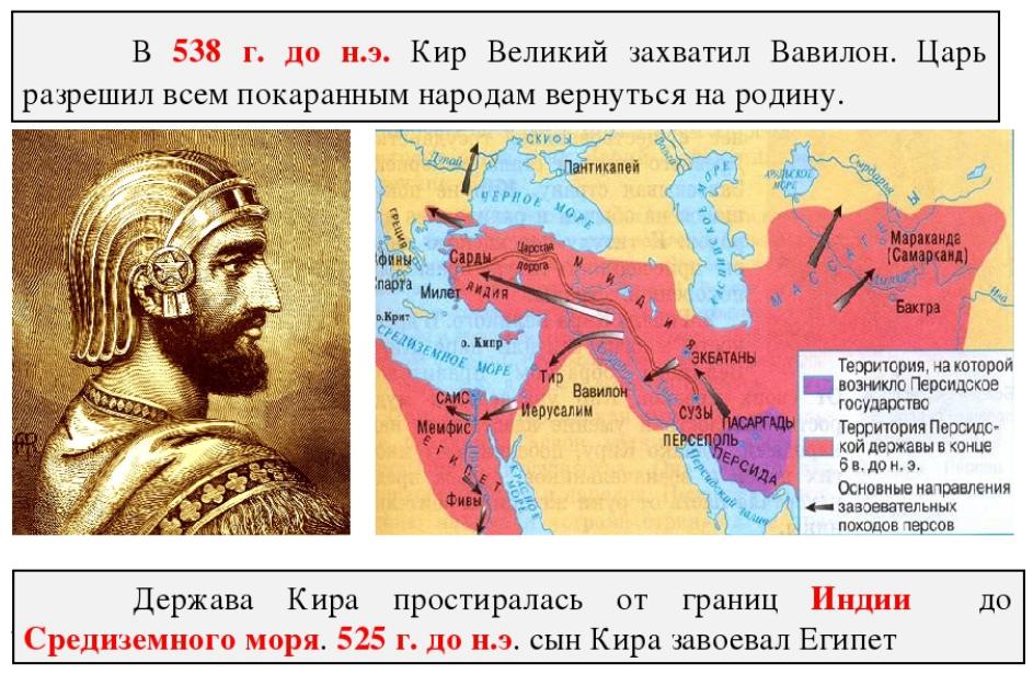Завоевания Кира Великого (VI век до н. э.)