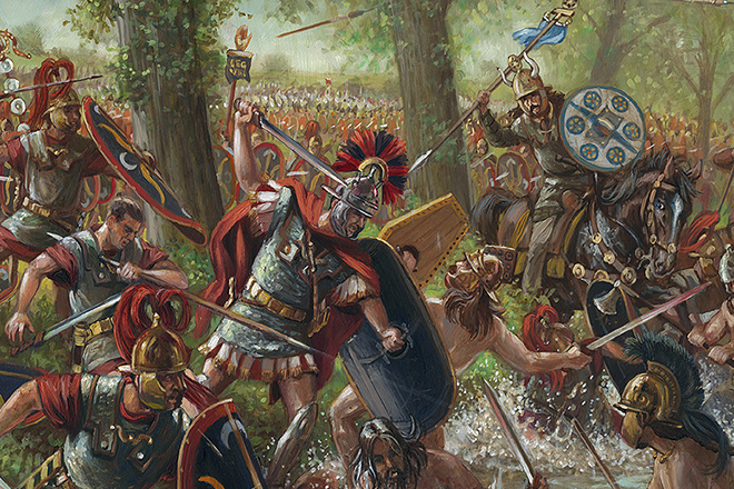 Римско-Галльские войны (I век до н. э.)
