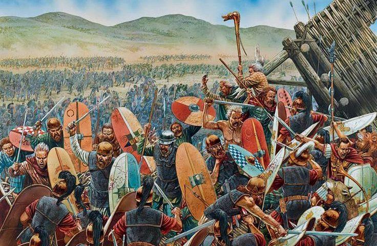 Римско-Германские войны (конец I века до н. э. — II век н. э.)