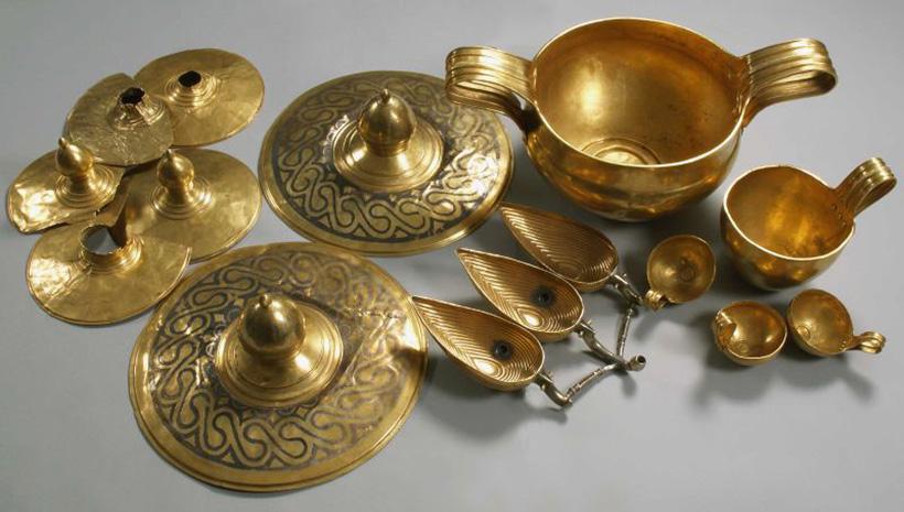 Древнейшее золото Европы