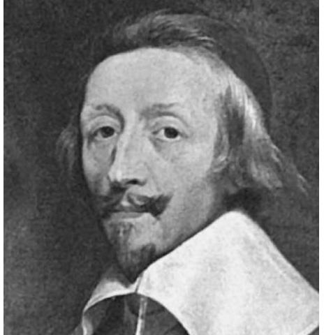Ришелье Арман Жан дю Плесси (1585–1642) – французский государственный деятель, кардинал (1622), герцог (1631), первый министр Людовика XIII (1624)