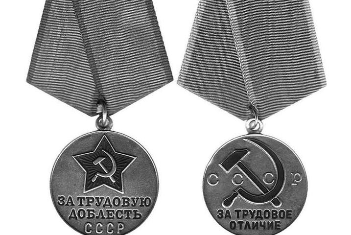Медали «За трудовую доблесть» и «За трудовое отличие»